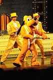 Das goldene Micky Erscheinen Lizenzfreies Stockfoto