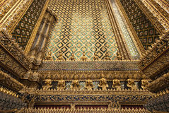 Das goldene Muster… Stockfotografie