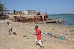 Das Golf von Aden Stockfotografie