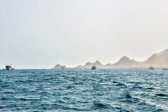 Das Golf von Aden, Arabisches Meer, der Jemen Stockbilder