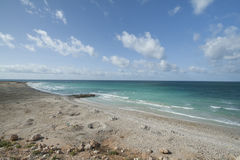 Das Golf von Aden von der Nordküste, Strand Stockfotos