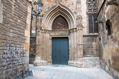 Das gotische Viertel in Barcelona.Spain. Stockfotos