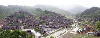 Das größte Dorf Stockbild