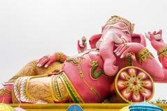 Das größte rosa Ganesh - das Nakornnayok, Thailand Lizenzfreie Stockfotografie