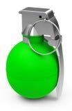Das grüne granade Lizenzfreies Stockbild