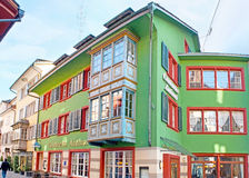 Das grüne Haus Lizenzfreie Stockbilder
