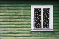 Das grüne Holz Lizenzfreie Stockbilder