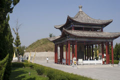Das Grab von Lao-tzu ` s Mutter Lizenzfreies Stockbild