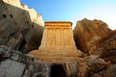 Das Grab von Zechariah Lizenzfreies Stockfoto