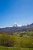 Das Gran Sasso Abruzzo Italien Stockfoto