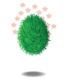 Das Gras-Ei Stockbild