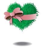 Das Gras-Herz Lizenzfreie Stockfotografie