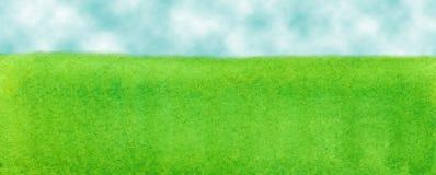 Das Gras ist grüner vektor abbildung