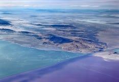 Das Great Salt Lake, Utah lizenzfreies stockfoto