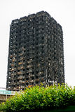 Das Grenfell-Turm-Feuer Lizenzfreies Stockfoto
