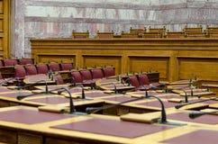 Das griechische Parlament Lizenzfreie Stockfotografie
