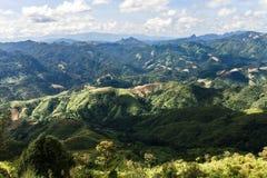 Das großartige Lanscape in Luang Prabang, Laos Stockbild