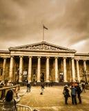 Das Großbritannien-Museum, -kunst und -geschichte stockfotografie