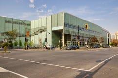 Das große Bibliotheque DU Quebec Stockbild