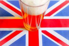 Das große britische Bier Stockfoto