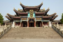Das große Kloster Buddha-Chan Lizenzfreie Stockfotos