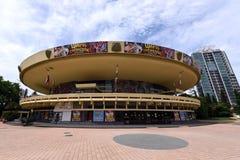 Das große runde Gebäude Lizenzfreies Stockbild