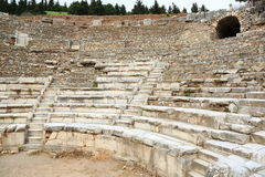 Das große Theater von Ephesus Stockfotografie