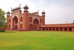 Das große Tor von Taj Mahal Stockfotografie