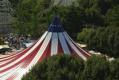 Das große Zelt Stockfotografie