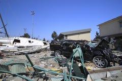 Das große Ostjapan-Erdbeben Stockfotos