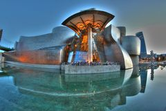 Das Guggenheim Bilbao Stockfotografie