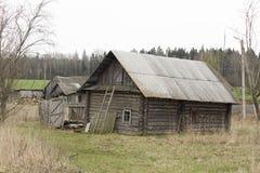 Das hässliche Haus Lizenzfreies Stockfoto