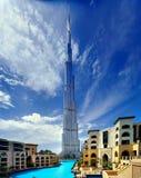 Das höchste Gebäude in der Welt Lizenzfreie Stockbilder
