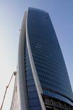 Das Hadid Tover im Bau bei Citylife; Mailand Stockfotografie