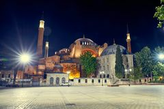 Das Hagia Sophia stockbild