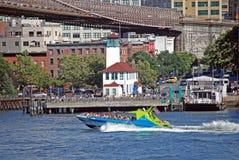 Das Haifisch-Schnellboot stockfotos