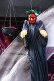 Das Halloween im Porzellan Stockbilder