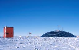 Das Haube-und Himmel-Labor Stockbild