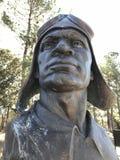 Das Haupt- Versuchs-` s Monument am Tuskegee-Flieger-Monument lizenzfreie stockfotos