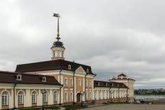 Das Hauptgebäude der Artillerie-Gießerei, Kasan stockbild