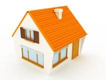 Das Haus Lizenzfreie Stockfotos