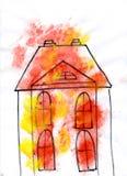 Das Haus lizenzfreie stockbilder
