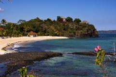 Das Haus Andilana Strandes Lizenzfreie Stockfotos