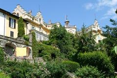 Das Haus, in dem der berühmte Verfasser Hermann Hesse lebte stockbilder