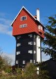 Das Haus in den Wolken Lizenzfreie Stockbilder