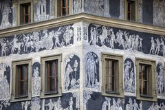 Das Haus an der Minute in Prag Lizenzfreies Stockbild