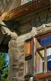 Das Haus des Bauers in Russland Lizenzfreie Stockbilder
