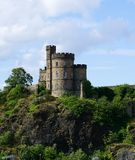 Das Haus des Gouverneurs, Calton-Hügel, Edinburgh, Schottland Lizenzfreies Stockbild