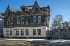 Das Haus des Shokin-Kaufmannes Lizenzfreies Stockfoto