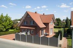 Das Haus in Deutschland Stockfotografie